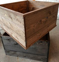 Wood tree skirt/Tree collar/Wood box/Farmhouse wood box
