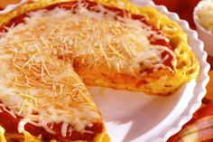 """Spaghetti Pie, expanding for 9 x 13 for Super Bowl Party! Have made for years. No need to """"twirl"""" spaghetti so neater to eat at buffet or pot luck party!"""