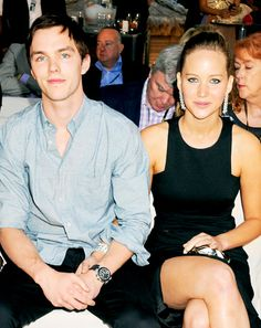 Exes Jennifer Lawrence and Nicholas Hoult Spend Time Together Off Set