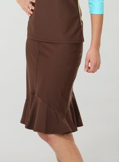 Long swim skirt with built-in pants $84. Keeps you covered no ...