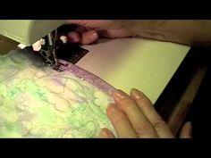 coperta patchwork passo passo (fine!) - YouTube