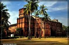 The Basilica of Bom Jesus or Borea Jezuchi Bajilika (Portuguese: Basílica do Bom Jesus) is located in Goa, India, and is a UNESCO World Heritage Site. The basilica holds the mortal remains of St. Francis Xavier. The church is located in Old Goa, which was the capital of Goa in the early days of Portuguese rule.
