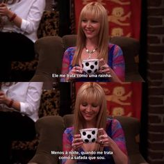 Love Peace and Write: Friends - Pensamento do Dia Tag Friends Scenes, Friends Cast, Friends Tv Show, Friends Phoebe, I Love My Friends, Series Movies, Movies And Tv Shows, King Ragnar, Phoebe Buffay