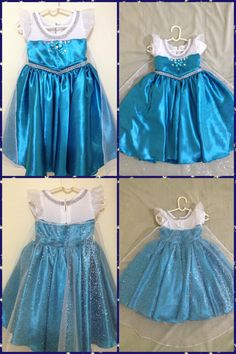 Disney Frozen Elsa inspired dress for toddler