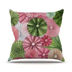 KESS InHouse My Secret Fairytale by Heidi Jennings Throw Pillow Size: