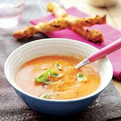 Recept - Soep van romatomaten - Allerhande