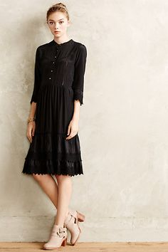 Pratum Silk Shirtdress #anthropologie #anthrofave