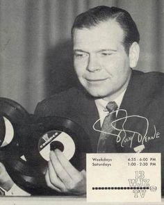 Buddy Deane; Baltimore's Dick Clark...on whom John Waters based Corny Collins in Hairspray