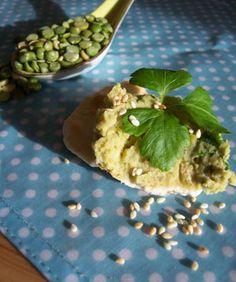 Tartinade de pois cassés à la coriandre et au sésame - Recettes de cuisine Ôdélices