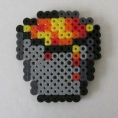 My collection of pearls Perler Minecraft – DIY – Bügelperlen – Hama Beads Easy Perler Bead Patterns, Melty Bead Patterns, Perler Bead Templates, Diy Perler Beads, Perler Bead Art, Pearler Beads, Fuse Beads, Beading Patterns, Melty Beads Ideas