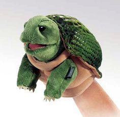 PuppetU.com - Folkmanis Little Turtle Stage Puppet 7 inches, $9.74 (http://store.puppetu.com/folkmanis-little-turtle-stage-puppet-7-inches/)