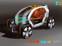 Renault Twizy Concept Rendering