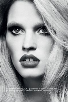 INDUSTRIE MAGAZINE Lara Stone in The Accidental Supermodel by Erik Torstensson. Clare Richardson, Fall 2014, www.imageamplified.com, Image Amplified