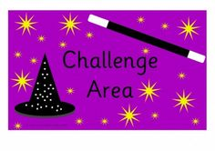 Challenge Area Sign A4 Landscape H Early Years (EYFS), KS1, KS2, Primary & Secondary School teaching help, ideas and free teaching resources for the classroom. We love sharing free teaching resources!