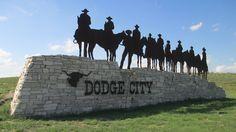 Dodge City Welcome Sign (Dodge City, Kansas) Entrance Signage, Exterior Signage, Dodge City Kansas, Monument Signage, Big Modern Houses, Architectural Signage, Wayfinding Signs, City Scene, Signage Design