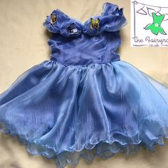 A personal favourite from my Etsy shop https://www.etsy.com/uk/listing/527362734/cinderella-live-action-inspired-dress-in