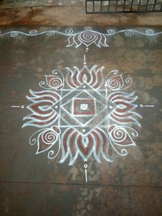 San Simple Rangoli Border Designs, Rangoli Simple, Indian Rangoli Designs, Rangoli Designs Flower, Rangoli Borders, Small Rangoli Design, Rangoli Designs Images, Rangoli Designs With Dots, Rangoli Ideas