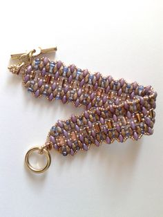 Hey, I found this really awesome Etsy listing at https://www.etsy.com/listing/242619220/beadwoven-bracelet-rulla-beads-superduo