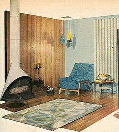 Atomic House Design | ... Atomic Ranch House: More 1950's Atomic Mid-Century Interior Design