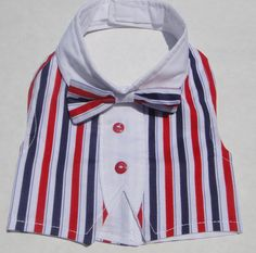Male Dog Vest 4th of July by MyriamsCreations on Etsy, $14.99