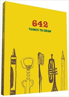 642 Things To Draw Journal Chronicle Books 9780811876445 Amazon