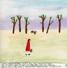 Red Riding Hood * Original by Angela Dalinger