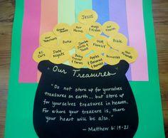 "St. Patrick's Day ""Treasures"" Matthew 6:19-21"