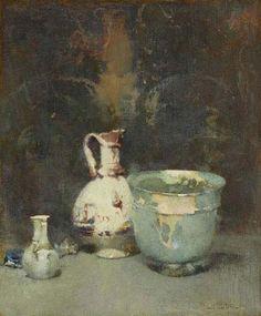 """Roman Bowl,"" Emil Carlsen, ca. 1920, oil on canvas, Art Gallery of Ontario."
