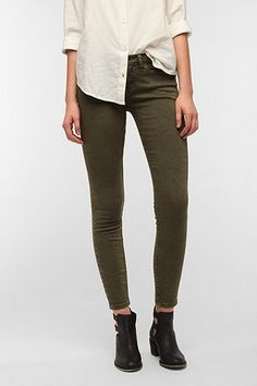 BDG Twig Mid-Rise Jean - Moss | $39