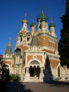 nice in France photos   ... Church on Avenue Nicolas II Nice France.jpg - Wikimedia Commons