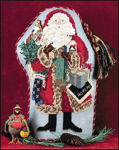 Just Nan - s021-Nutcracker-santa.html • Counted Thread Cross Stitch Designs from Just Nan