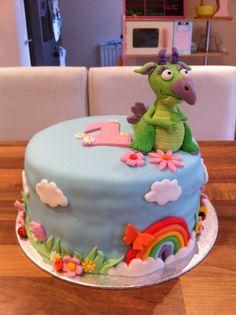 Draco - Baby Tv Cake