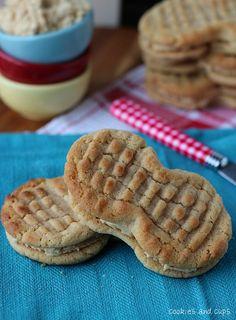 Homemade Nutter Butters | www.cookiesandcups.com