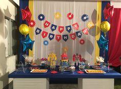 #5años #party #rescuetbots #Transformers #decoración #fiesta