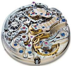 A Lange L951.1 flyback chronograph caliber - Perpetuelle