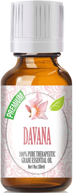 Davana Essential Oil has a sweet floral aroma with rich wood notes and hints of vanilla. Botanical Name: Artemisia pallens