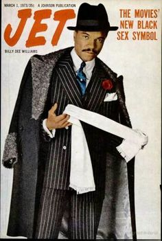 Image result for billy dee williams on jet cover