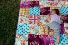 Backyard Patchwork Quilt