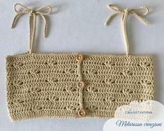 Crochet Summer Tops, Crochet Halter Tops, Crochet For Kids, Crochet Baby, Easy Crochet Hat Patterns, Bodice Pattern, Crochet Magazine, Crochet Clothes, Crochet Hooks