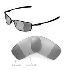 1bf2a52f38 Walleva Replacement Lenses for Oakley Splinter Sunglasses Multiple Options  Available Transitionphotochromic Polarized -- Check out the image by  visiting the ...