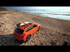 Subaru XV Crosstrek is the perfect car for surfing this summer! Subaru Models, Share The Love, Glamping, Wilderness, Surfing, Explore, Day, Horses, Videos