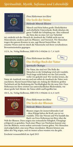 Katalog 2015 vom Verlag Heilbronn -  Seite 14 - Bücher von Firos Holterman ten Hove: Die Seele der Steine, Das Heilige Buch der Natur, Die Seele der Blumen.   www.verlag-heilbronn.de