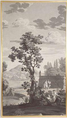 Joseph Dufour 1820's panel