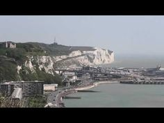 Rough and Ready White Cliffs of Dover Video, Kent England UK Library Of Congress Photos, Dover Castle, White Cliffs Of Dover, Space City, Continental Europe, On A Clear Day, The Two Towers, Kent England, Light Trails
