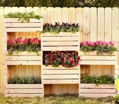 Giardino+verticale+con+cassette+di+legno…