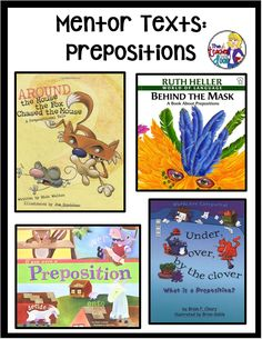 This post has lots of book lists with picture books (mentor texts) that are just right for teaching parts of speech, an important part of grammar lessons in the classroom. Parts Of Grammar, Grammar And Punctuation, Teaching Grammar, Grammar Lessons, Teaching Writing, Grammar Skills, Writing Mentor Texts, Mentor Sentences, 4th Grade Writing