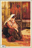 Cross Stitch Numbers, Little Girls, Tapestry, Bird, Embroidery, History, Gallery, Crafts, Painting
