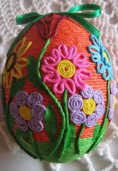 Easter Projects, Easter Crafts, Diy And Crafts, Crafts For Kids, Arts And Crafts, Rope Art, Diy Ostern, Faux Painting, Knitted Animals