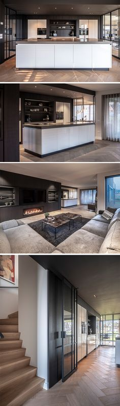Style At Home, Interior Design Living Room, Living Room Designs, Elegant Living Room, Living Room Colors, House Layouts, Elegant Homes, Modern House Design, Home Deco