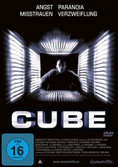 Cube  1997 Canada        IMDB Rating  7,5 (83.123)    Darsteller:  Maurice Dean Wint,  David Hewlett,  Nicole de Boer